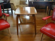 sold for in sept mid century modern signed heywood wakefield table