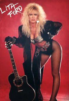 Rock Chic, Glam Rock, Lita Ford, Heavy Metal Girl, Heavy Metal Music, Freddie Mercury, Hard Rock, Rock Bands, Rock And Roll