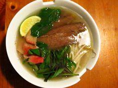 Pho Bo - Soupe tonkinoise au boeuf