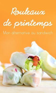 Si comme moi, vous en avez marre de l'éternel sandwich qu'on ressort à chaque pique-nique, vous allez adorer monalternative toute fraiche et facile à préparer : les rouleaux de printemps aux légumes ! (vegan, sans gluten) www.sweetandsour.fr