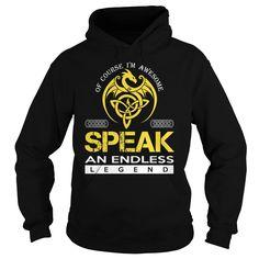 SPEAK An Endless Legend (Dragon) - Last Name, Surname T-Shirt