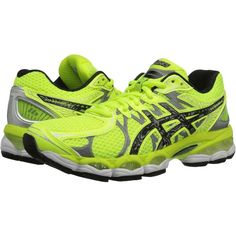 ASICS GEL-Nimbus 16 Lite-Show Women's Running Shoes, Yellow ($105) ❤ liked on Polyvore