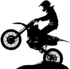 Motocross Tattoo, Dirt Bike Tattoo, Bike Tattoos, Motorcycle Stickers, Motorcycle Art, Bike Art, Tattoo Design Drawings, Art Drawings, B&w Wallpaper