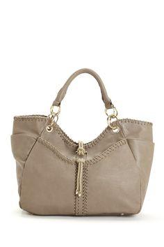 Segolene Laced Trim Satchel Bag by Fashionable Favorites: Handbags on @HauteLook