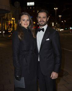 Carlos Felipe y Sofia de Suecia