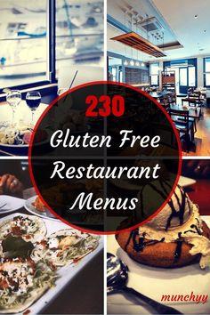 Gluten Free Restaurant Menus: The Ultimate Guide