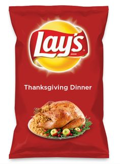 Wouldn't Thanksgiving Dinner be yummy as a chip? Lay's Do Us A Flavor is back, and the search is on for the yummiest flavor idea. Create a flavor, choose a chip and you could win $1 million! https://www.dousaflavor.com See Rules.