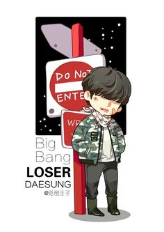 biiiiigbaaaaang — haydee-gd:   [FANART] Bigbang - LOSER  by菇倒王子