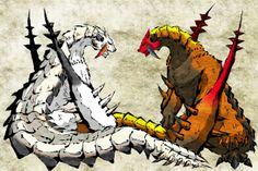 Monster Hunter - Barioth and Sand Barioth Sin1
