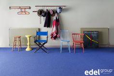Tapijt zorgt voor een goede akoestiek | carpet is the best option on the floor to ensure good acoustics (carpet: Helsinki)