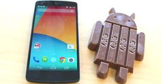 Google launched its latest sweet-themed Android operating system just in time for Halloween: KitKat. Right now, it's only available on the Nexus 5, which just went on sale in th...