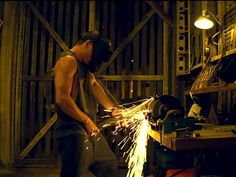 The 10 Most Important Things That Happened in the Magic Mike XXL Trailer | WHEN SPARKS ACTUALLY STARTED TO FLY | The fire is only the second hottest thing about this scene though.