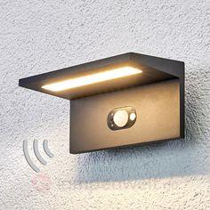 Solar-LED-Außenwandleuchte Sven m. Bewegungsmelder sicher & bequem online bestellen bei Lampenwelt.de.