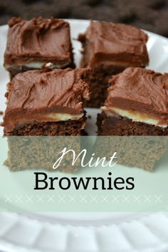 BYU Mint Brownies | Taste Tester's Kitchen