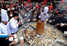 How about this for your next hot pot gathering? :) 中国首届百洋火锅节