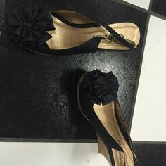 Wedge heals Like new. Only worn one time Shoes Wedges