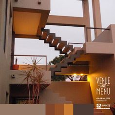 #Postcards from #Mexico - This beautiful modern stairway leads straight to heaven for another perfect sunset. #VenueandMenu