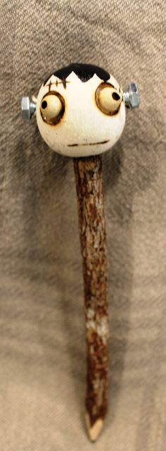 Lead Pencil Real twig pencil with by PeddlersBoutique on Etsy