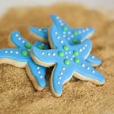 (34) complete - Starfish cookies