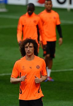 Cute David Luiz!! <3 Chelsea FC <3