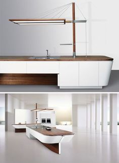 Sailboat-Shaped Kitchen built in - Küche