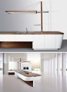 Sailboat inspiration, kitchen design