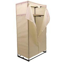 Double Wardrobe Fabric Canvas Versatile Compact Closet Clothes Storage Rail NEW Double Wardrobe, Sliding Wardrobe, Hanging Canvas, Hanging Rail, Extra Storage Space, Storage Spaces, Heavy Duty Clothes Rail, Temporary Storage, Large Wardrobes