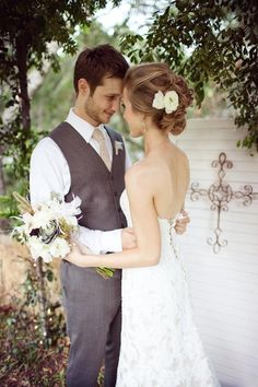 Vintage Texas Wedding Wedding Real Weddings Photos on WeddingWire