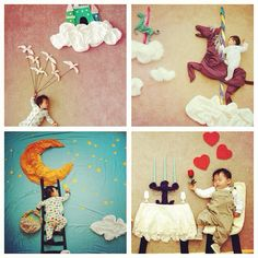 Www.boredpanda.org - {Entirely unique and adorable photography shoot for baby.}