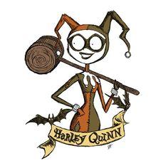 """Happy Harleyween"" by Kitty Montigny is $10 today at ShirtPunch.com (10/24). #tshirt #HarleyQuinn #Batman #HarleenQuinzel #DCComics #Halloween"