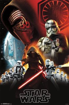 Swtfa - Dark Side Movie Poster 22x34 RP13962 UPC882663039623 Star Wars The Force Awakens Used: Studio or manufacturer original not a reprint. Used in great cond