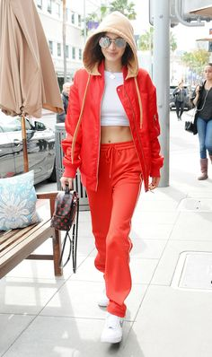 Whether you're heading to barre class or a boxing session, take inspiration from Bella Hadid's best workout looks.