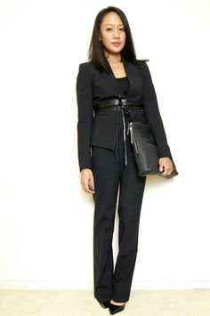 a fashion deliberation: Suit styling.