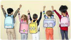 Classmates Friends Bag School Education - Buy this stock photo and explore similar images at Adobe Stock Real Estate Flyer Template, Social Media Images, Layout Template, Templates, Photoshop Photos, Creative Illustration, Women Lifestyle, School Photos, School Boy