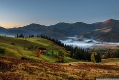 Picturesque highlands of the Carpathian mountains for an unforgettable vacation 02