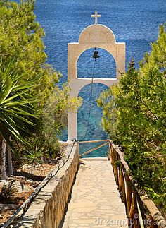 Path to the sea, Leros island, Greece What A Beautiful World, Beautiful Places, Places To Travel, Places To See, Myconos, Paradise On Earth, Greece Islands, Adventure Is Out There, Greece Travel