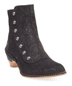 Fantasy Black Mazuela Ankle Boot
