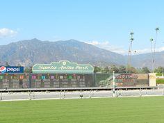 Santa Anita Park - home of the 2012 Breeders' Cup!