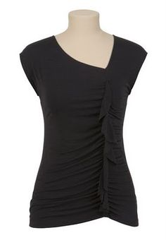 Easy tutorial to create a ruffled shirt. Other projects on site.