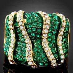 Frivolous Fabulous - Emerald and Diamond Ring for Miss Frivolous Fabulous