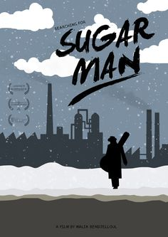 Searching for Sugar Man (2012) ~ Minimal Movie Poster by Joris Laquittant #amusementphile