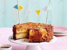 Gâteau aux pommes facile au fromage blanc, facile