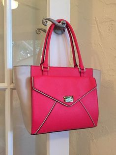 Kate Spade New York Wesley Place Johanna Shoulder Bag Tote Pink Fuchsia WKRU3112 #katespade #ShoulderBag