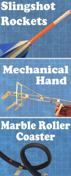 These project-based lessons focus on basic principles of physics and structural & mechanical engineering. They promote investigation and critical thinking. #STEM
