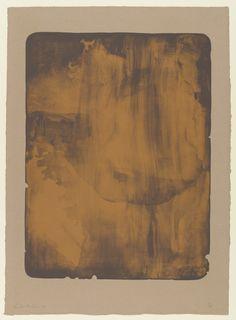 Helen Frankenthaler. Bronze Smoke. 1978  LATE ABSTRACT EXPRESSIONISM