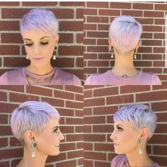 Today we have the most stylish 86 Cute Short Pixie Haircuts. We claim that you have never seen such elegant and eye-catching short hairstyles before. Pixie haircut, of course, offers a lot of options for the hair of the ladies'… Continue Reading → Short Hair Cuts For Women, Short Hairstyles For Women, Very Short Haircuts, Super Short Hair, Pixie Hairstyles, Undercut Pixie Haircut, Curly Hair Styles, Hair Beauty, Pixie Cuts