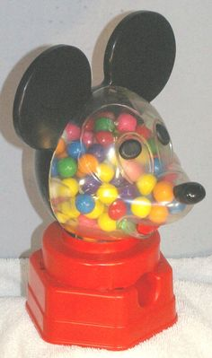 Lots of us had the Mickey Mouse Penny Gumball Machine.