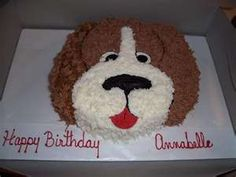Dog Cake Birthday Design Girl Cakes Animal Creative