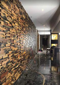 Textured Wall Panels, Faux Brick Panels, Brick Siding, Brick Paneling, Pvc Panels, Fence Panels, Small House Renovation, Room Design Bedroom, Master Bedroom
