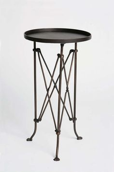 $79 Slide View: 1: Metal Accordion Side Table